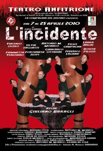 Incidente Locandina